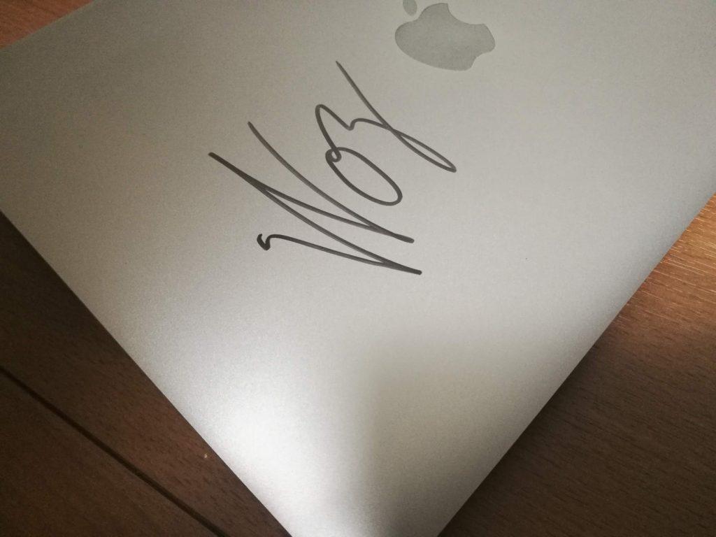 美しいサインのデザイン