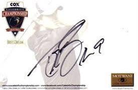 プロゴルファー専門サインの書き方