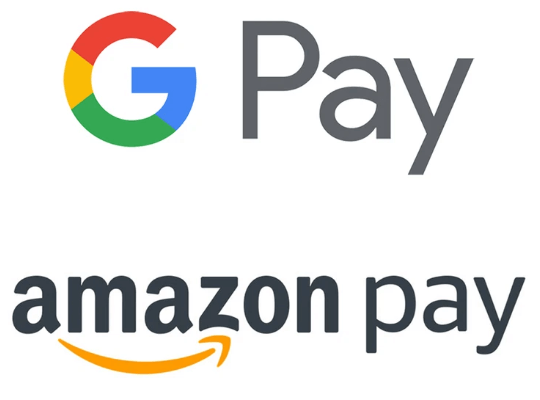 アマゾンペイ、GooglePay、銀行振込